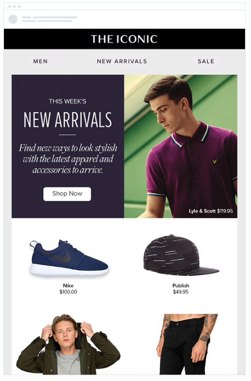 iconic email - boost online sales