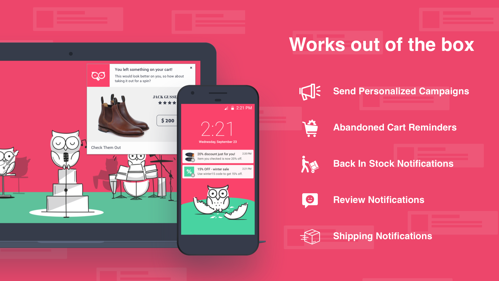 best shopify apps - pushowl