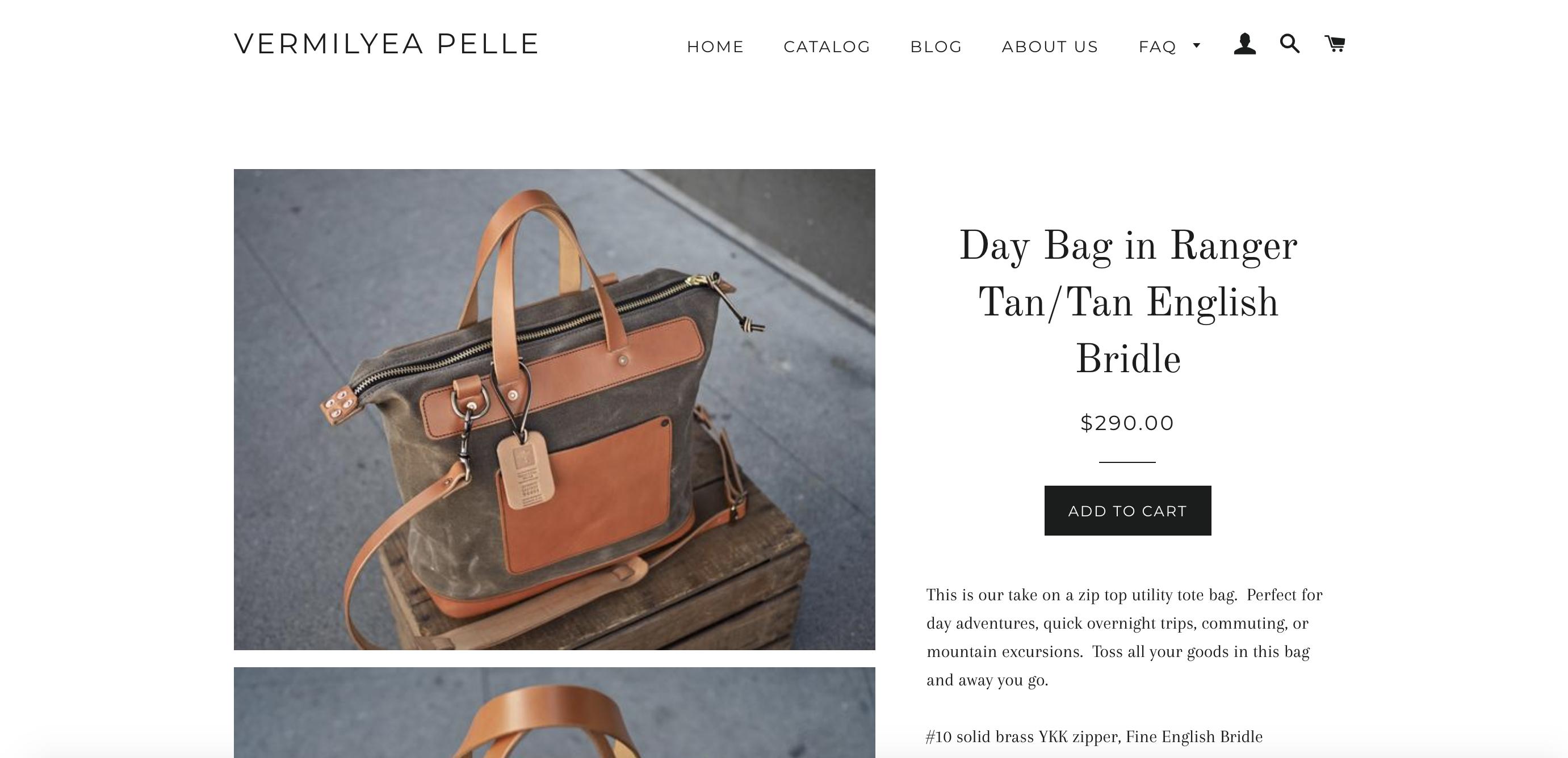 product page optimization - Vermilyea Pelle