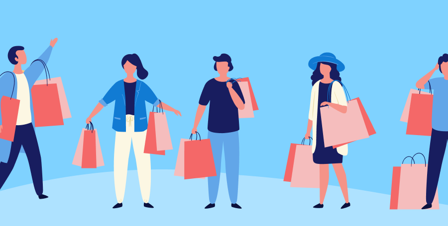 type of shoppers - shopify