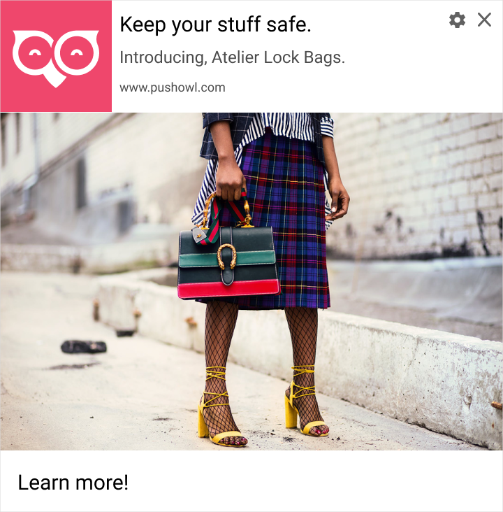 new product - web push notifications