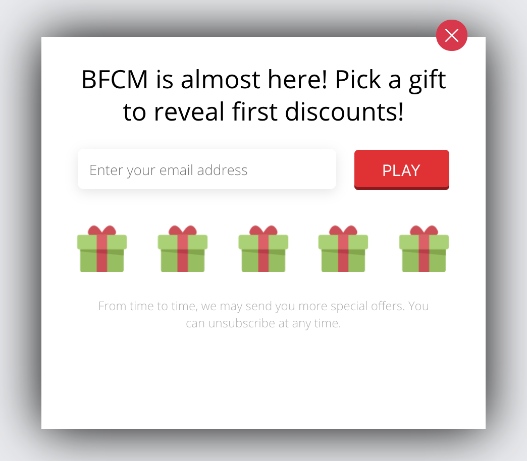 bfcm marketing - countdown gamification